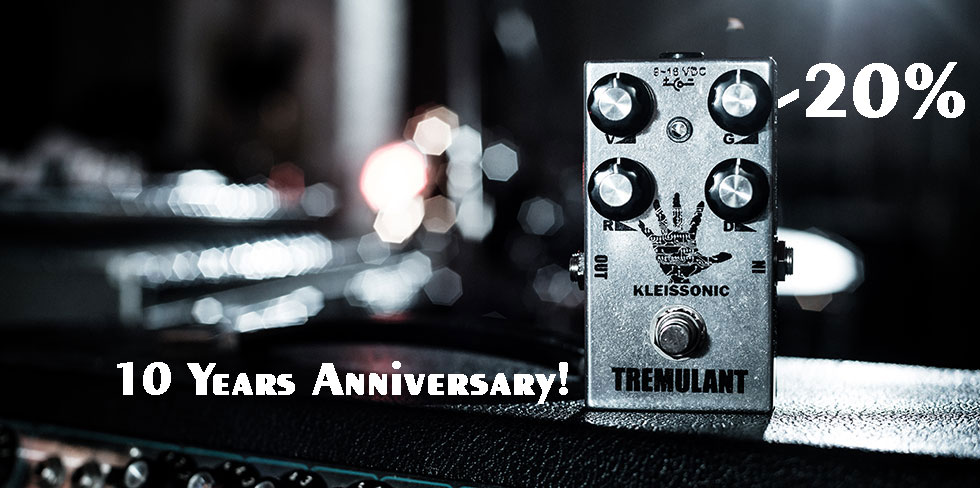 Kleissonic handmade boutique Pedals Tremolo lee Ranaldo