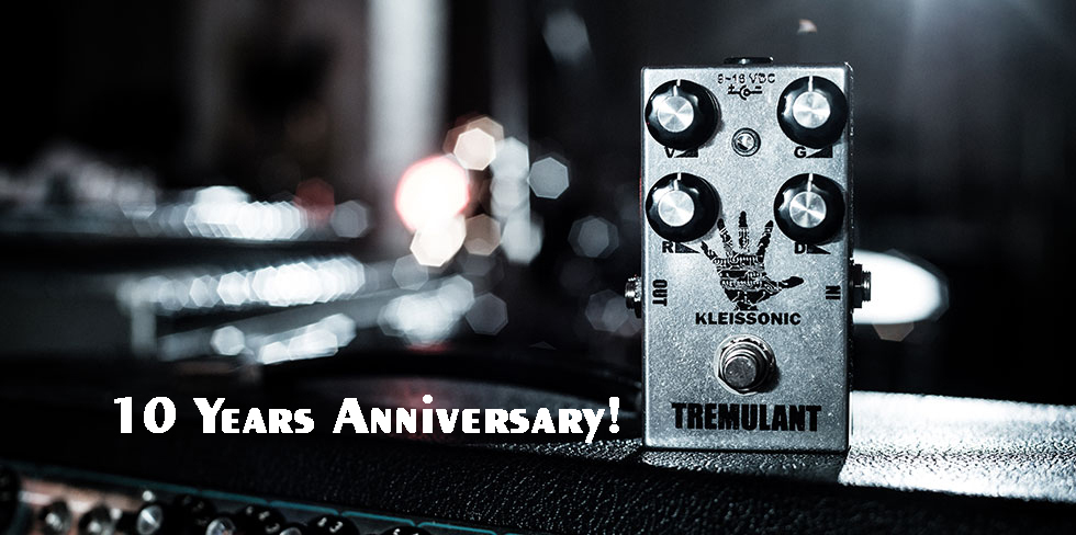 Kleissonic Tremulant Lee Tremolo Overdrive Lee Ranaldo Handamade Guitar Pedal